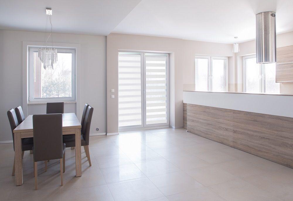 klemmfix doppel rollo ohne bohren und schrauben weiss mit blende viele gr en ebay. Black Bedroom Furniture Sets. Home Design Ideas