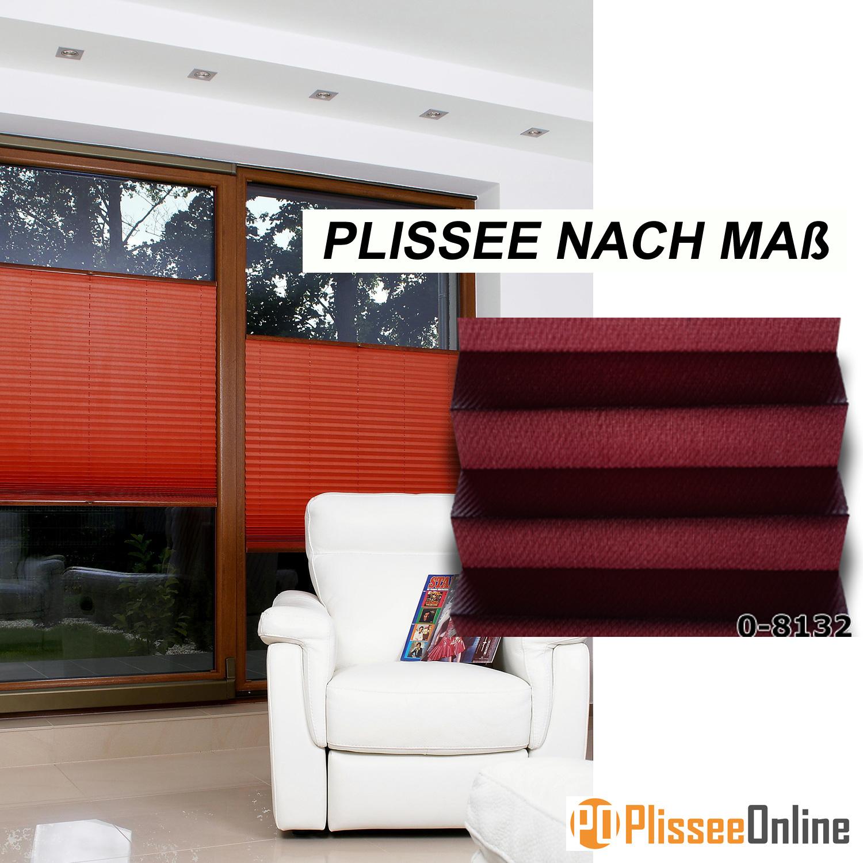 ma anfertigung plissee faltstore faltrollo rollo fensterrollo aida 0 8132 ebay. Black Bedroom Furniture Sets. Home Design Ideas