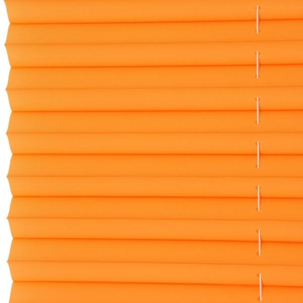 Klemmfix Plissee ohne Bohren Orange