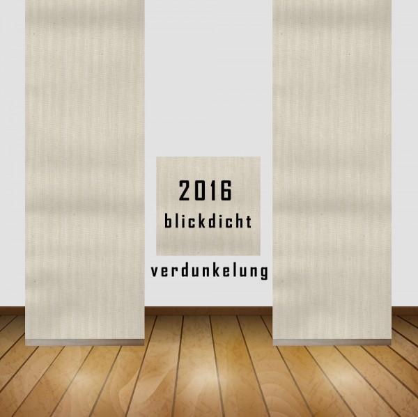 Art: 2016 Flächenvorhänge 50x260cm Schiebe Gardine Vorhang Verdunkelung Kürzbar