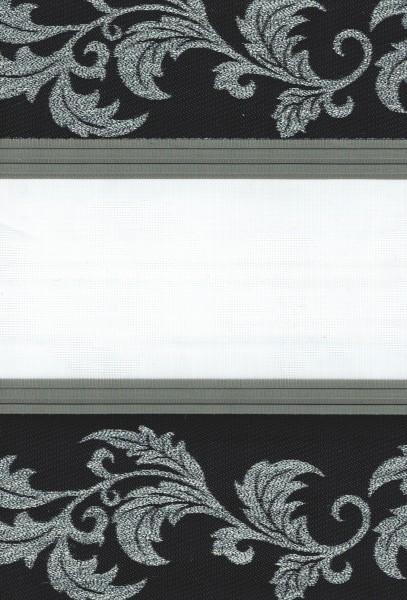 Art. 1614-17 Maßanfertigung Duorollo Boncuklu Zebra Perde Doppelrollo Farbe:17
