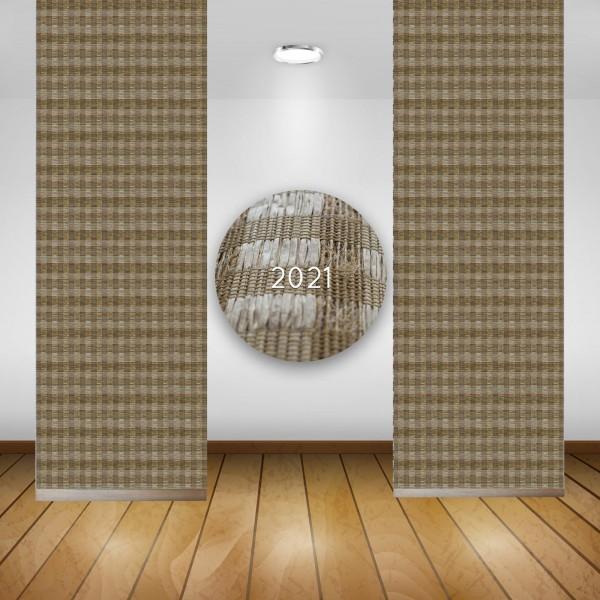 Art: 2021 Flächenvorhänge 50x260cm Schiebe Gardine Vorhang Kürzbar