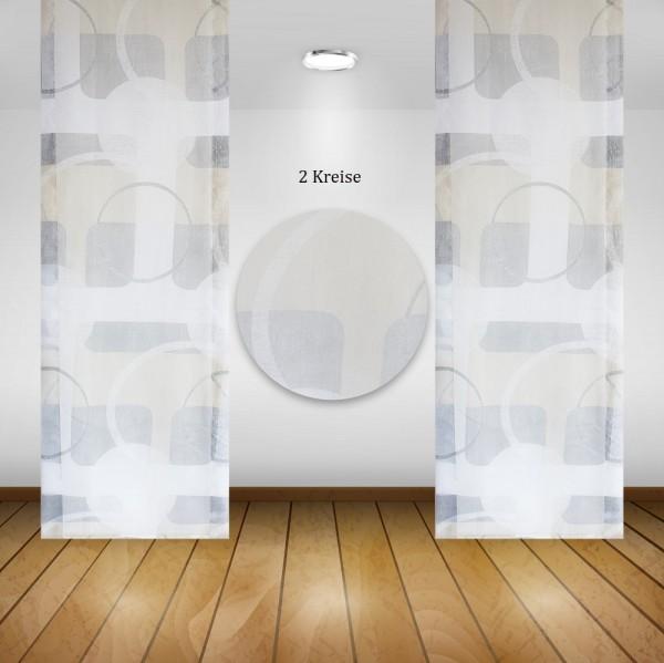 Waschbare Flächenvorhänge Schiebegardine Gardine Vorhang 60x245cm Farbe: 01