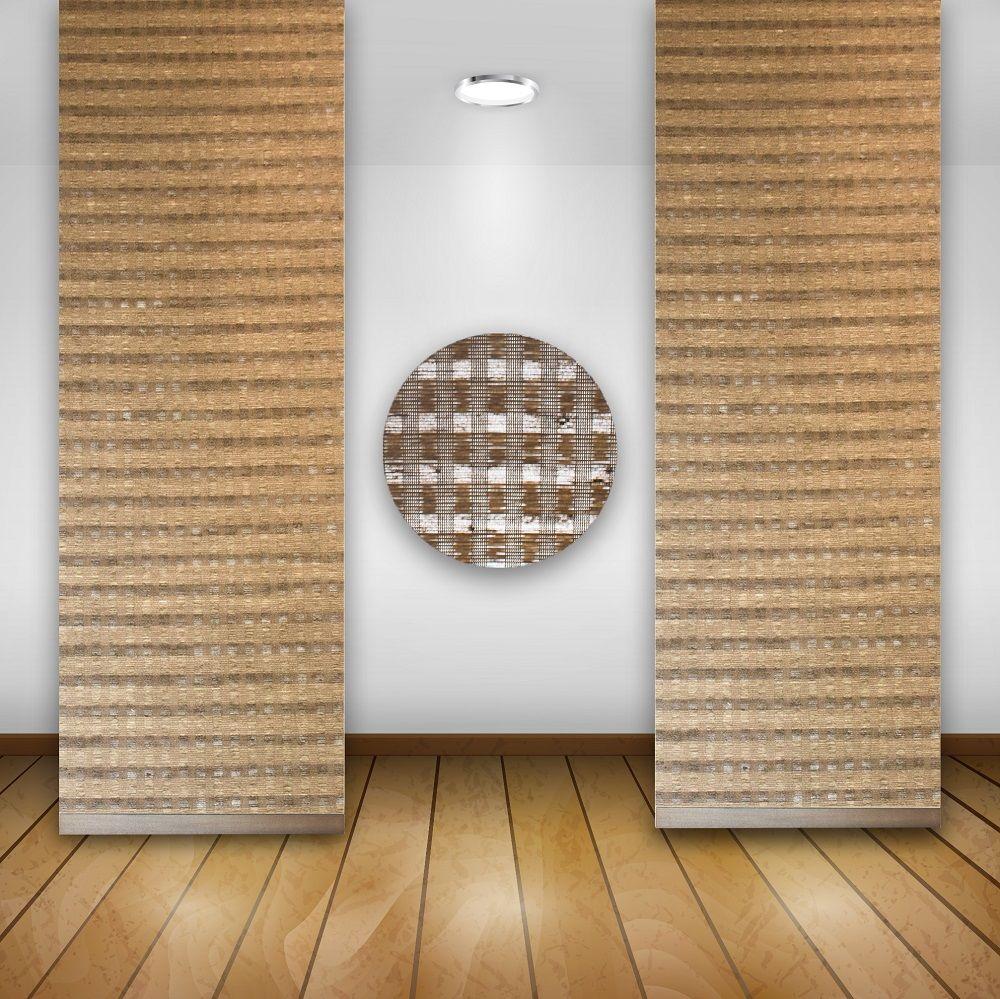 Schiebegardinen beige braun beste bildideen zu hause design for Bambus schiebevorhang