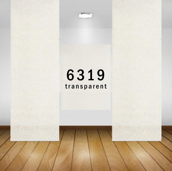 Art: 6319 Flächenvorhänge 50x260cm Schiebe Gardine Vorhang Kürzbar