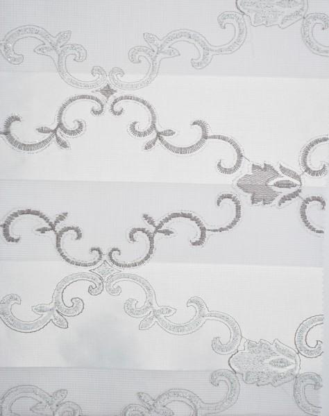 Art. BZS24046-01 Maßanfertigung Duorollo Boncuklu Zebra Perde Doppelrollo Farbe:01