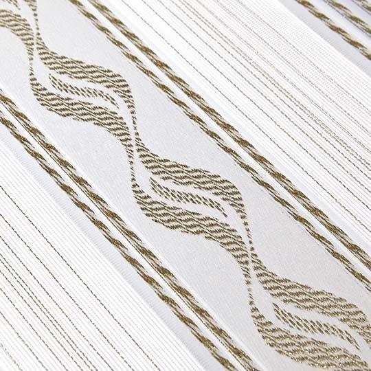 Duo Rollo Doppelrollo 93695-V02 Weiß Gold mit Muster