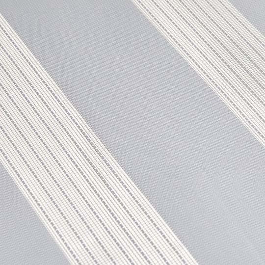 Duo Rollo Doppelrollo PER 2400-V58 Weiß mit Streifen