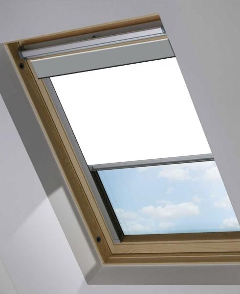 Dachfensterrollo weiß für VELUX GGL, GPL, GHL P10 / 410