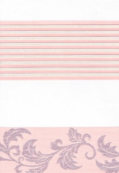 Art. 1627-12 Maßanfertigung Duorollo JAKAR GARDEN Boncuklu Zebra Perde Doppelrollo Pink