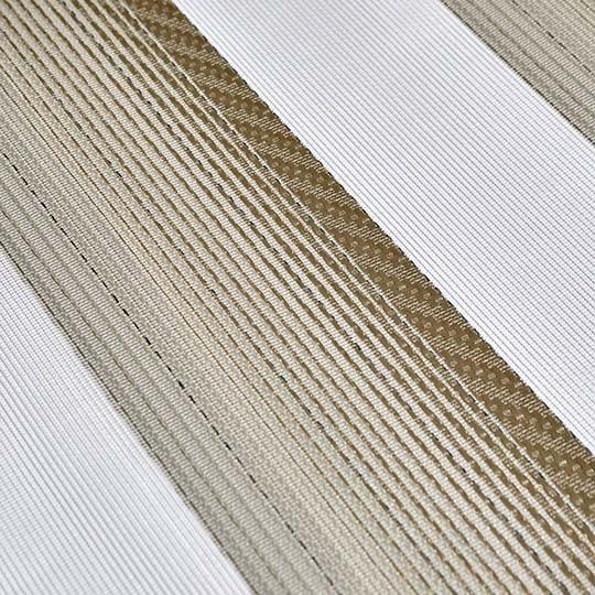 Duo Rollo Doppelrollo AT-3019-V01 Creme Weiß Silber mit Streifen