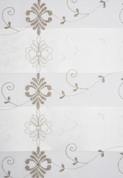 Art. BZS0043-02 Maßanfertigung Duorollo Boncuklu Zebra Perde Doppelrollo Farbe:02