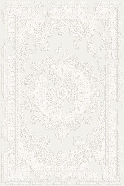Flora Teppich Rhodos Farbe: Creme 6682
