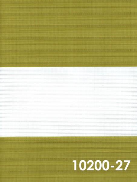 Art.: 10200 Maßanfertigung Duorollo Boncuklu Zebra Perde Doppelrollo Farbe:27