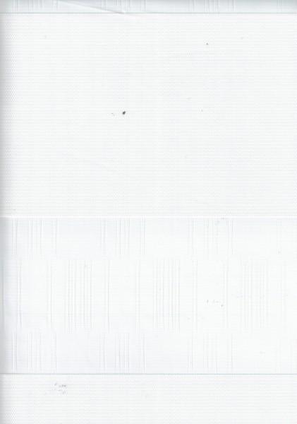 Art. Genis Bambu Maßanfertigung Exklusiv Doppel Rollo Zebra mit breiten Streifen Weiß