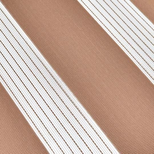 Duo Rollo Doppelrollo PER 2400-V13 Lachsfarbe mit Streifen