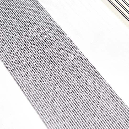 Duo Rollo Doppelrollo 26015-V05 Weiß Beige Grau mit Streifen