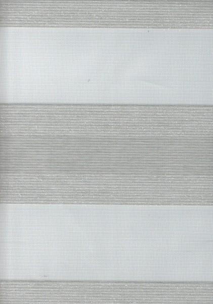 Art. SJE0159-6 Maßanfertigung Doppel Rollo Zebra Grau