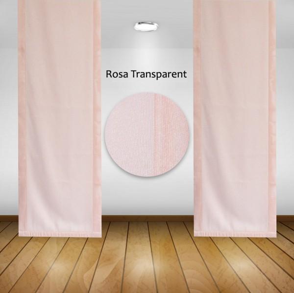 Waschbare Flächenvorhänge Schiebegardine Gardine Vorhang 50x245cm Farbe: 03