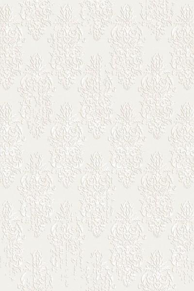 Flora Teppich Rhodos Farbe: Creme 6590