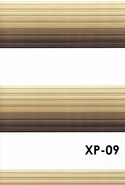Art.: XP Maßanfertigung Duorollo Boncuklu Zebra Perde Doppelrollo Farbe:09