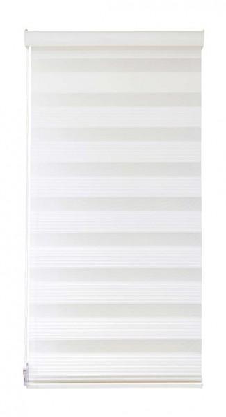 Duo Rollo Doppelrollo 10200-V01 Farbe Weiß mit Struktur