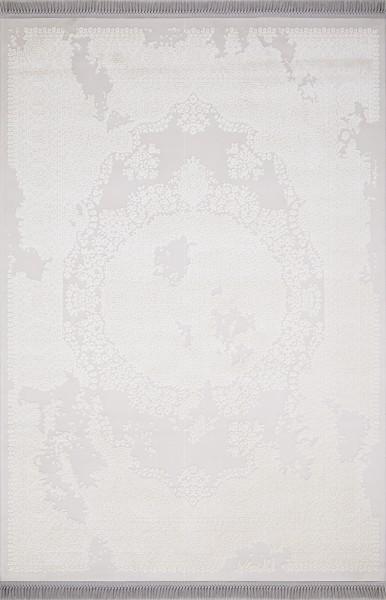 Flora Teppich Lavanta Farbe: White 1780B