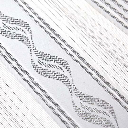 Duo Rollo Doppelrollo 93695-V01 Weiß Silber mit Muster