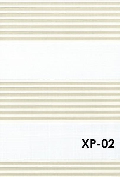 Art.: XP Maßanfertigung Duorollo Boncuklu Zebra Perde Doppelrollo Farbe:02