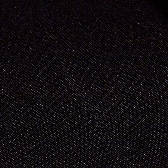 Maßanfertigung Seitenzug Rollo 2604 blickdichter Stoff Farbe: Schwarz