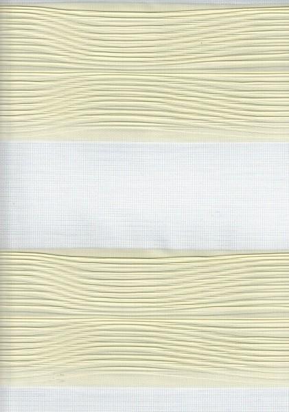 Art. 2502-802 Maßanfertigung Doppel Rollo Zebra Creme