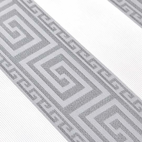 Duo Rollo Doppelrollo 3376-V01 Grau Silber Versace Motiv