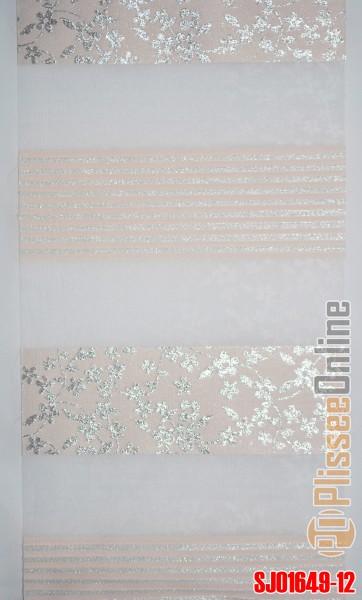 Art. SJ01649-12 Maßanfertigung Duorollo Boncuklu Zebra Perde Doppelrollo Farbe:12