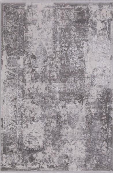 Flora Teppich Krizantem Farbe: Grau 1737A