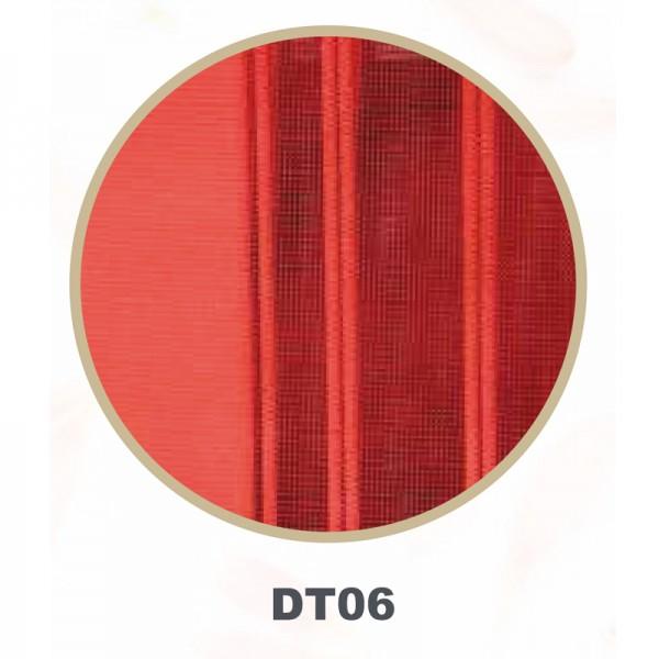Vertikal Lamellenvorhang Tül Dikey Storperde Rot DT-06