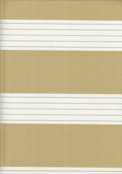 Art. 00012-0103 Maßanfertigung Doppel Rollo Zebra Beige