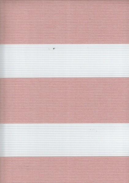 Art. 00036-13 Maßanfertigung Doppel Rollo Zebra NEW Rosa