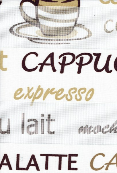 Art. kahve Cappuccino Maßanfertigung Duorollo Kaffee Latte Boncuklu Zebra Perde Doppelrollo