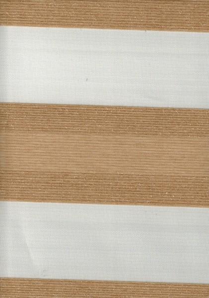 Art. SJE0159-3 Maßanfertigung Doppel Rollo Zebra Beige