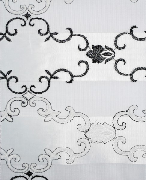 Art. BZS24046-08 Maßanfertigung Duorollo Boncuklu Zebra Perde Doppelrollo Farbe:08