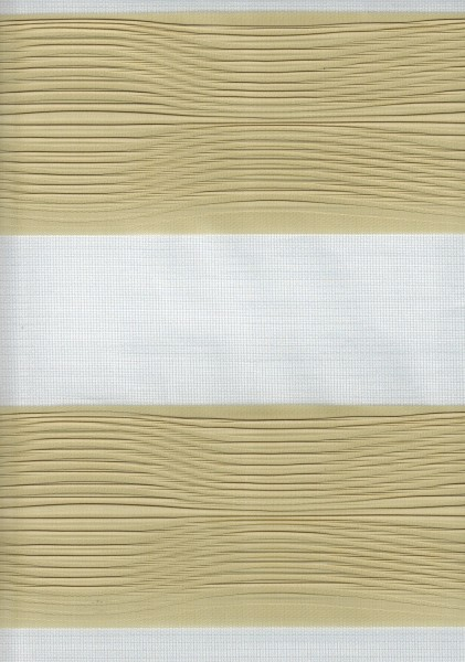 Art. 2502-803 Maßanfertigung Doppel Rollo Zebra Beige