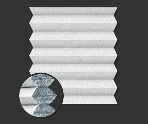 Wabenplissee Verdunkelung PALMA BO 5100