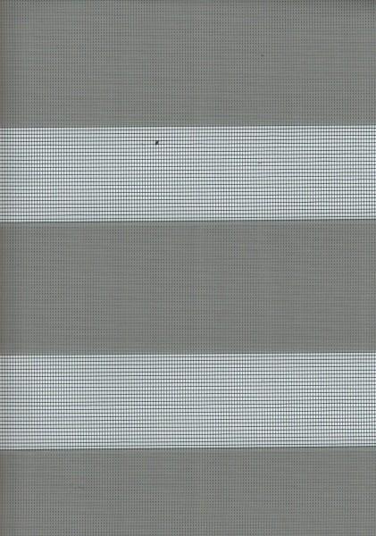 Art. 1400-37 Maßanfertigung Doppel Rollo Zebra Grau