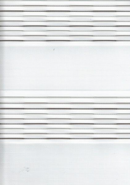 Art. 93983-07 Maßanfertigung Doppel Rollo Zebra Streifen Grau