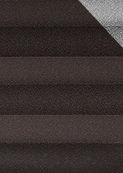 Plissee Dunkelbraun B0048 Maßanfertigung