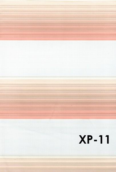 Art.: XP Maßanfertigung Duorollo Boncuklu Zebra Perde Doppelrollo Farbe:11