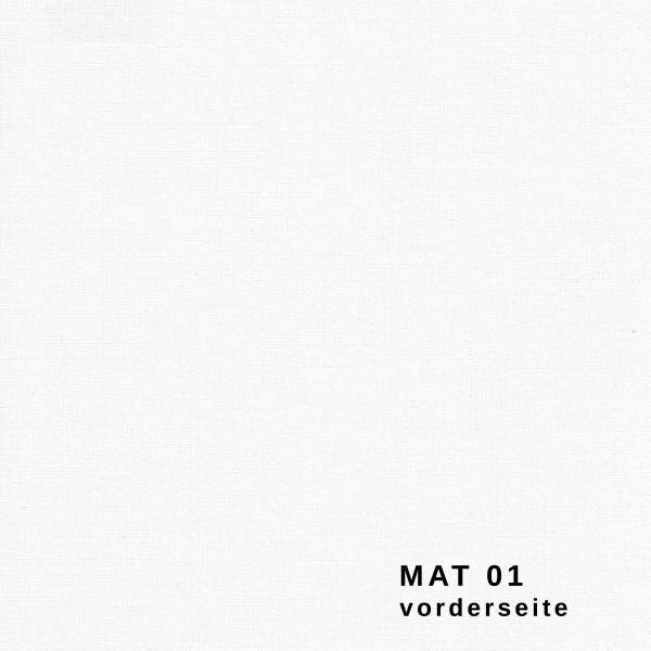 Maßanfertigung Seitenzug Rollo blickdichte Stoffe Matt Farbe: MAT 01
