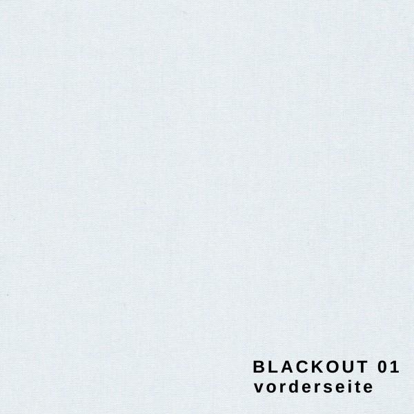 Maßanfertigung Seitenzug Rollo Blackout Thermorollo 100% Verdunklungsrollo Farbe: 01