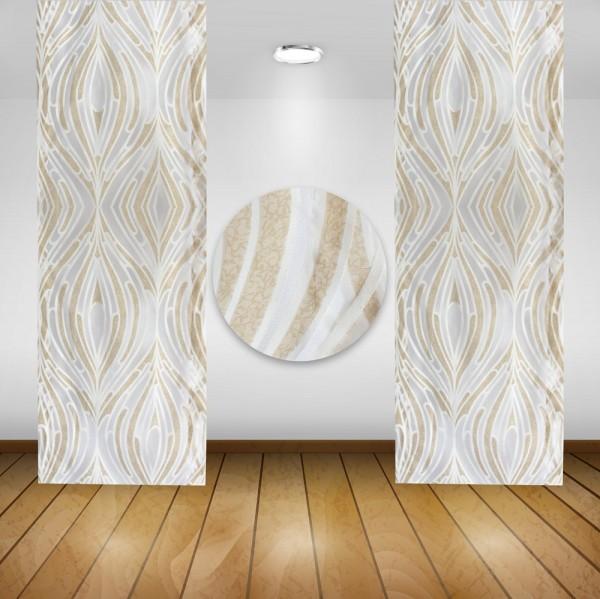 Waschbare Flächenvorhänge Schiebegardine Gardine Vorhang 50x245cm Farbe: 05