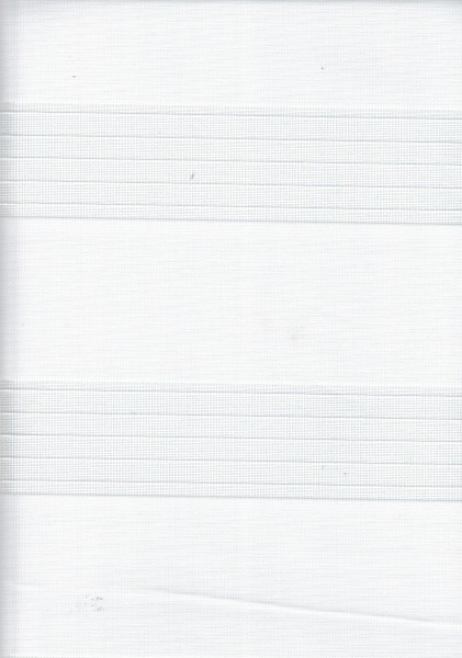Art. 00012-0101 Maßanfertigung Doppel Rollo Zebra Weiß